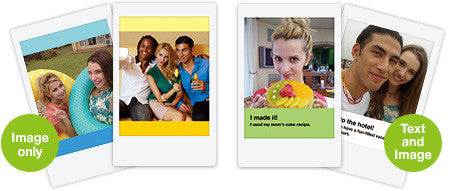 Choose from a number of Instax Share templates