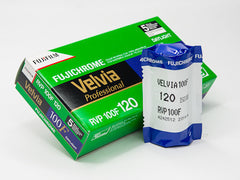 FujiFilm Velvia 100F (120) Color Slide Film