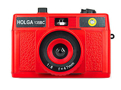 Holga 135BC Camera in Red Color