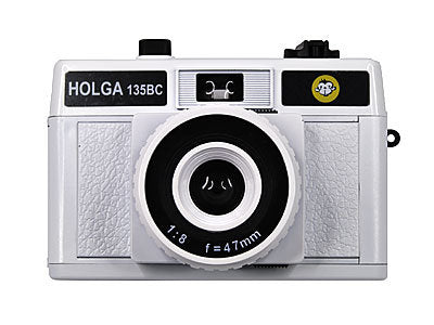 Holga 135BC Camera in White Color