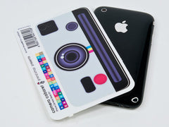 iPhone Analog Vintage Camera Decal
