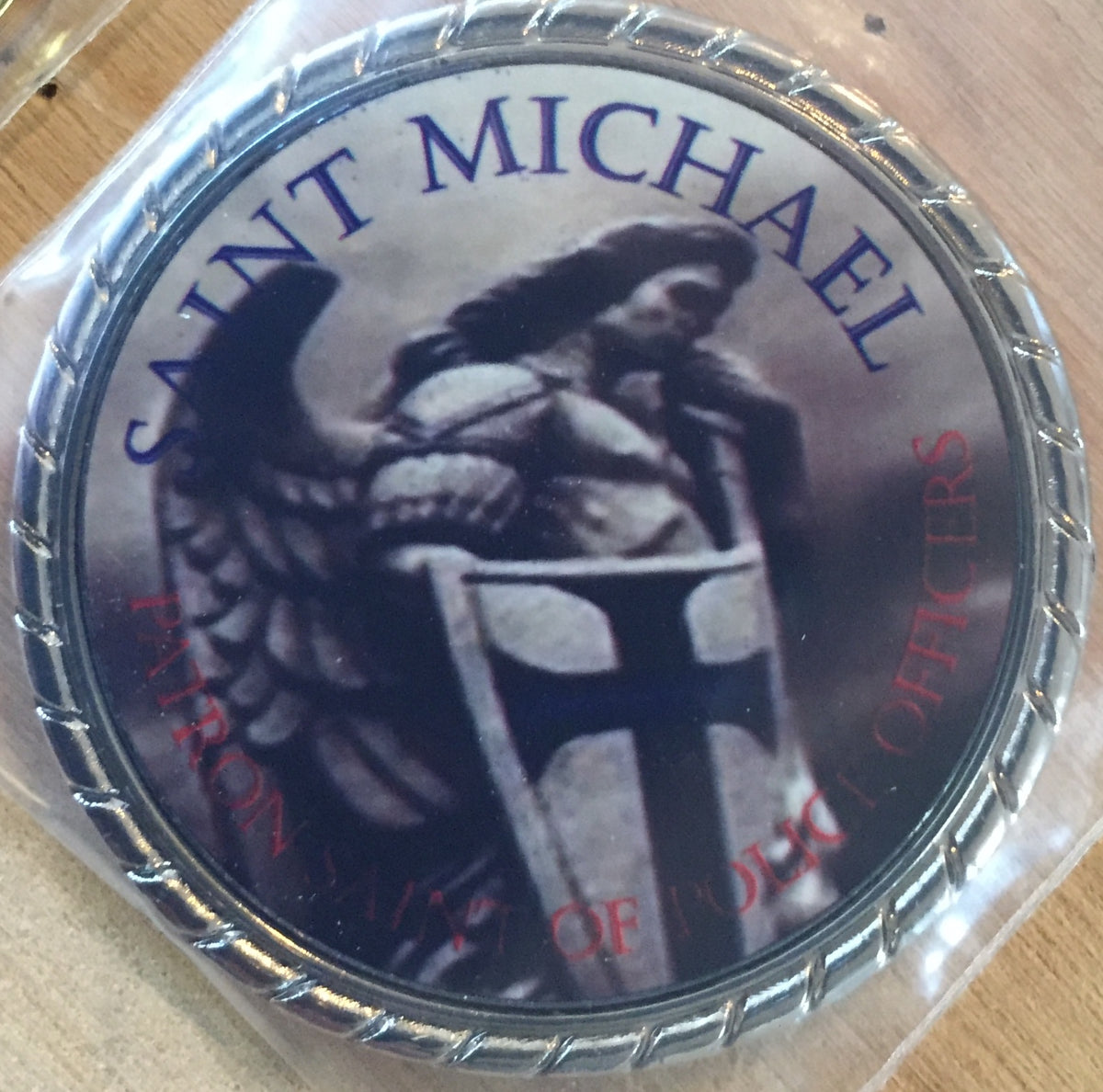 Heat Sublimation Challenge Coin