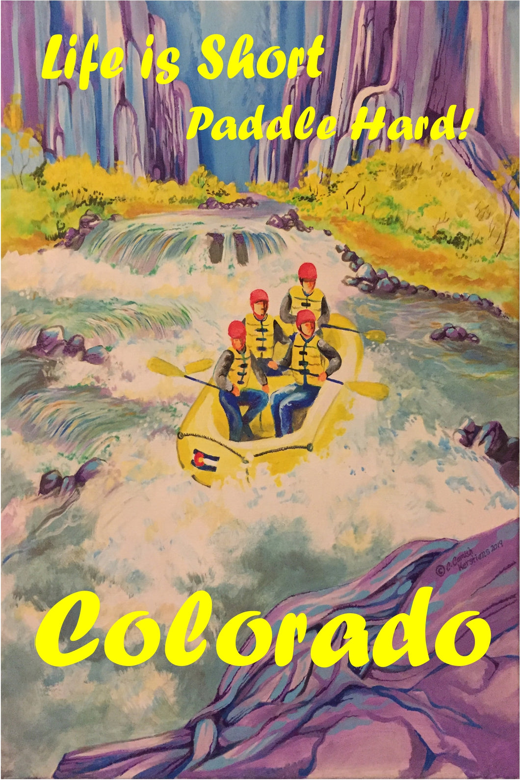 PC-023 Colorado Rafters