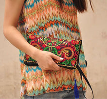 Load image into Gallery viewer, Wholesale Ethnic Style Retro Embroidered Bag