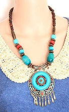 Load image into Gallery viewer, Wholesale Bohemian Ethnic Style Hand-Woven Colorful Jewel Necklace