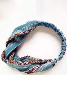 Wholesale Bohemian Retro Cross hair Headwear Accessories
