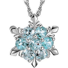 Load image into Gallery viewer, Christmas Snowflake Sliver-gilt Necklace Accessories