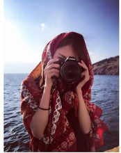 Load image into Gallery viewer, Wholesale Bohemian Tassel Fashion Vintage Ethnic Cotton Linen Scarf