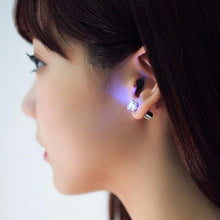 Load image into Gallery viewer, Wholesale 1 Pair LED Christmas Ear Studs