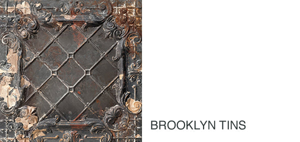 NLXL Brooklyn Tins Wallpaper Collection