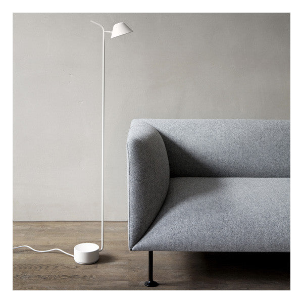 Peek Floor Lamp White by Jonas Wagell for Menu