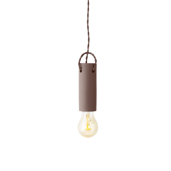 Tied Pendant Taupe by wrk-shp for Menu - Vertigo Home