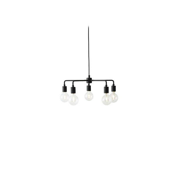Tribeca Leonard Chandelier Black by Søren Rose for Menu