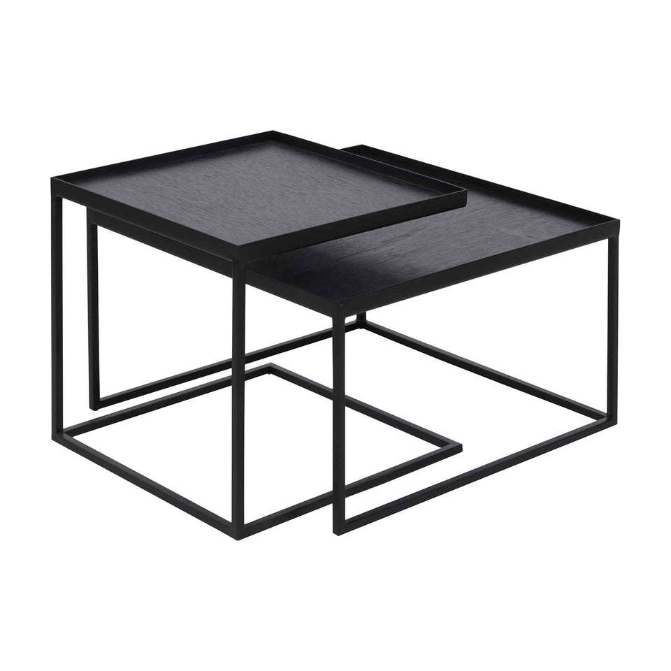 Square tray Coffee Table by Ethnicraft