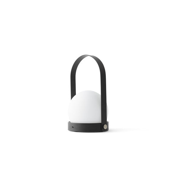 Carrie LED Lamp Black by Norm Architects for Menu