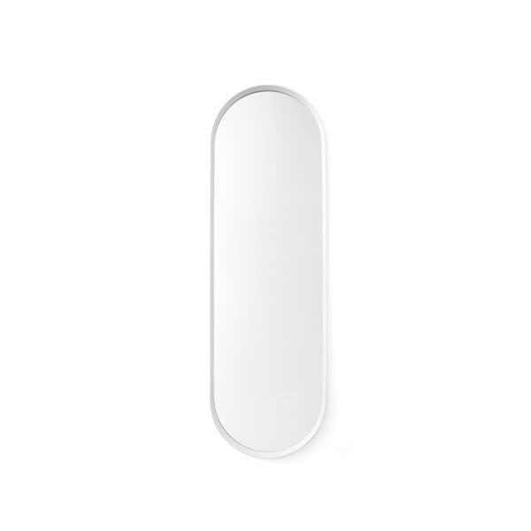 Norm Oval Wall Mirror White by Norm Architects for Menu