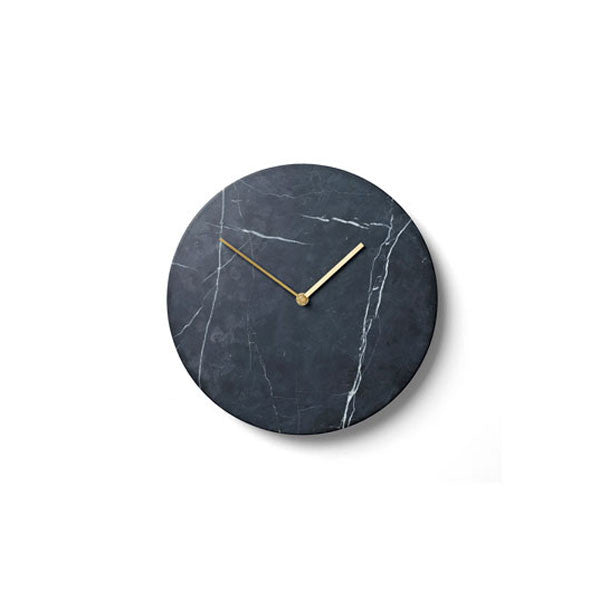Black Marble Clock by Norm Architects for Menu - Vertigo Home