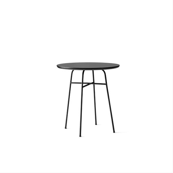Afteroom Cafe Table Black / Black Laminate by Afteroom for Menu