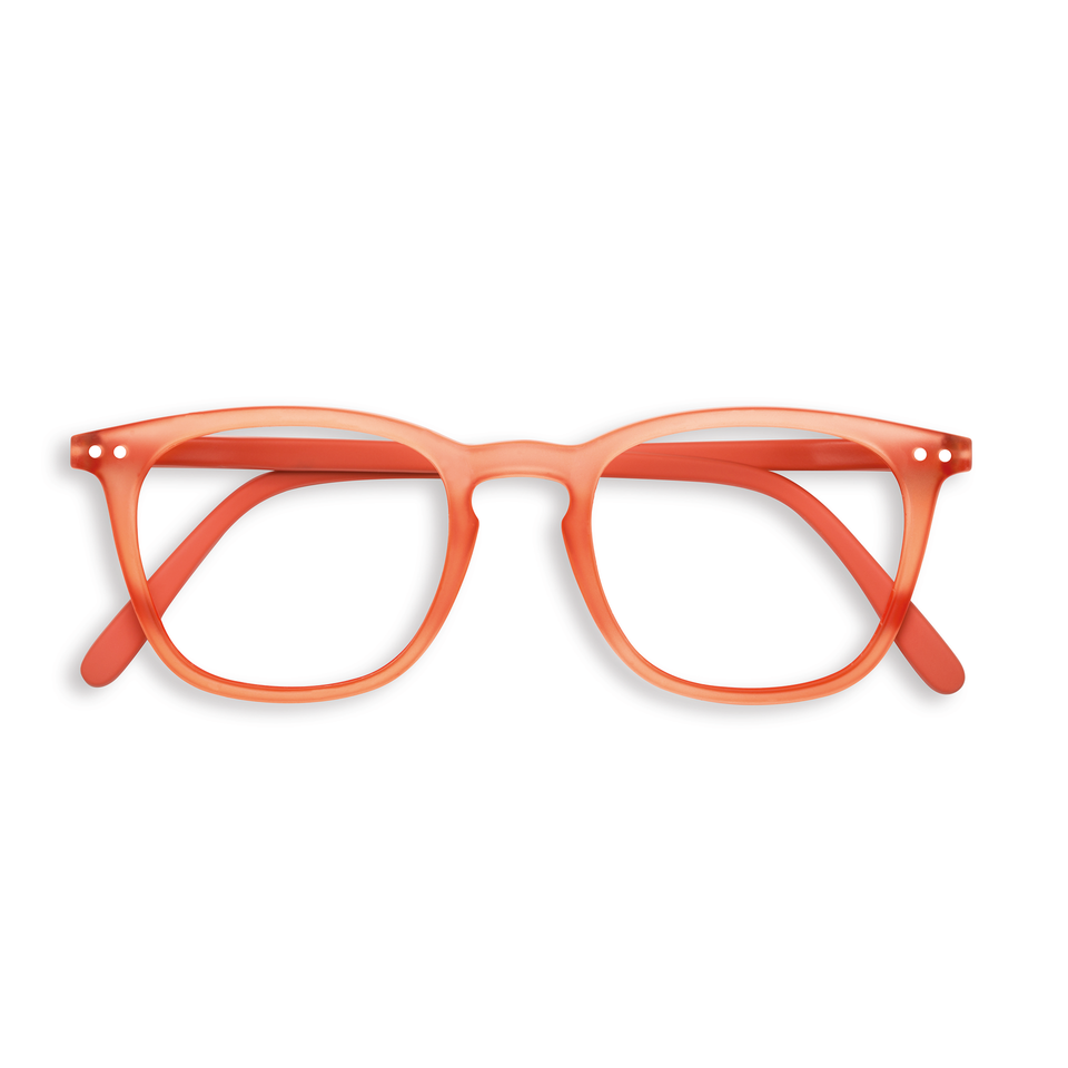 Warm Orange #E Reading Glasses by Izipizi - Limited Edition