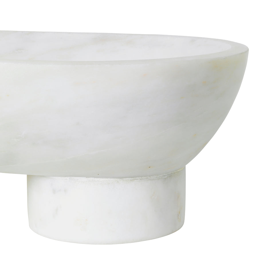 Alza Bowl White by Ferm Living