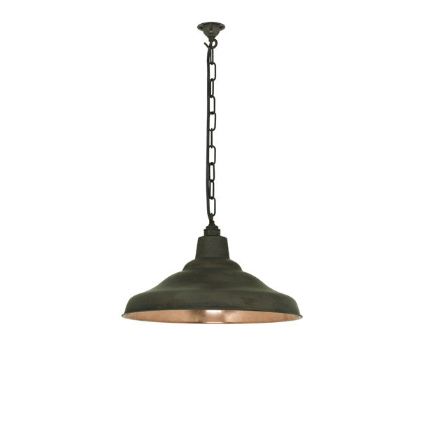 Spun School Light Pendant by Original BTC / Davey Lighting at www.vertigohome.us