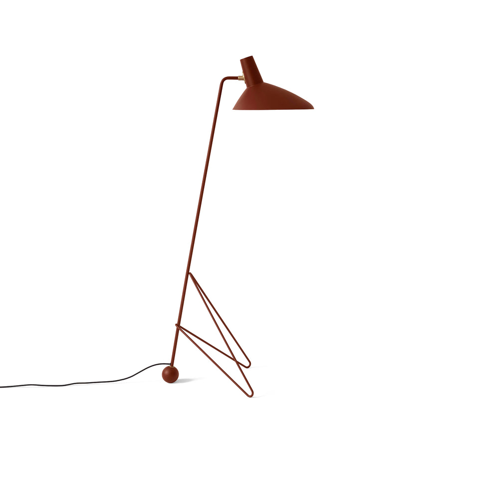 &Tradition Tripod HM8 Floor Lamp by Hvidt & Mølgaard