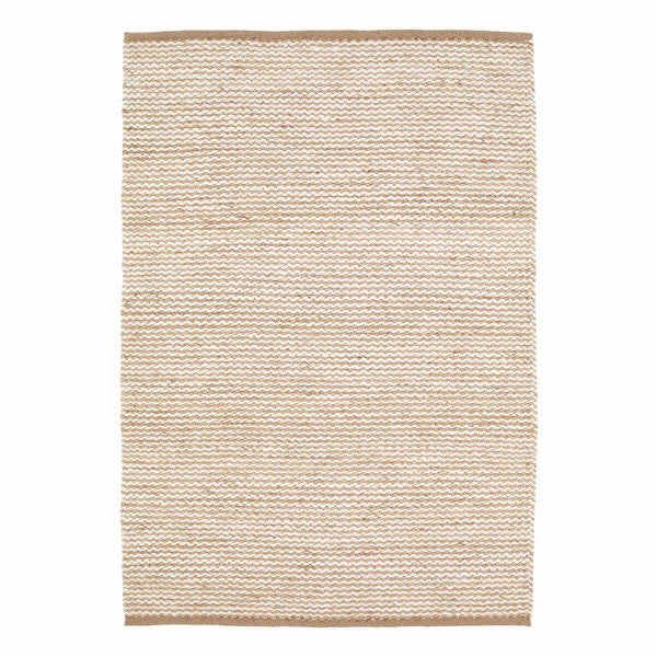Natural & Chalk Kalahari Weave Rug by Armadillo&Co - Vertigo Home