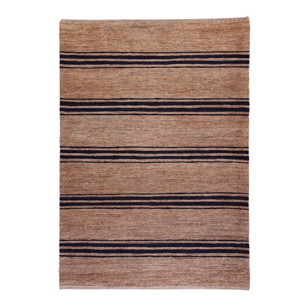 Indigo Ticking Stripe River Weave Rug by Armadillo&Co - Vertigo Home