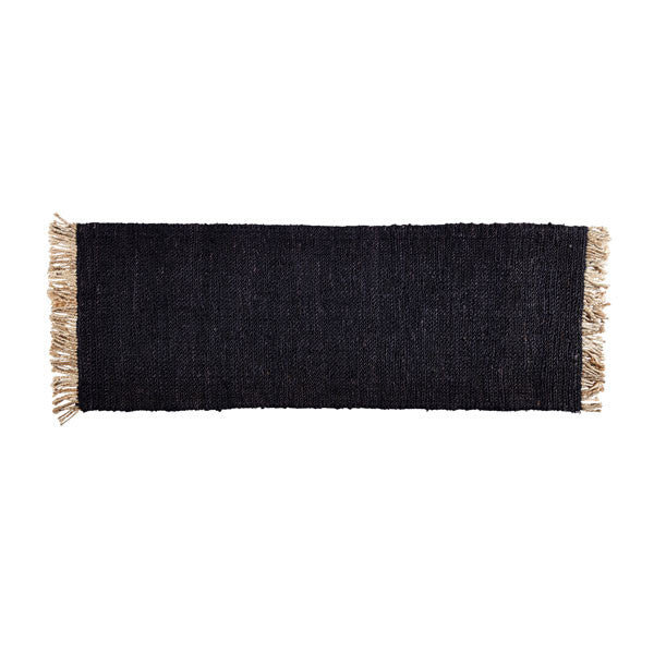Charcoal Sahara Weave Entrance Mat by Armadillo&Co - Vertigo Home