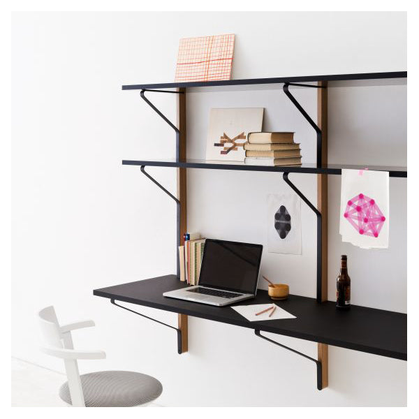 Kaari Wall Shelf with Desk REB 010 by Ronan & Erwan Bouroullec for Artek