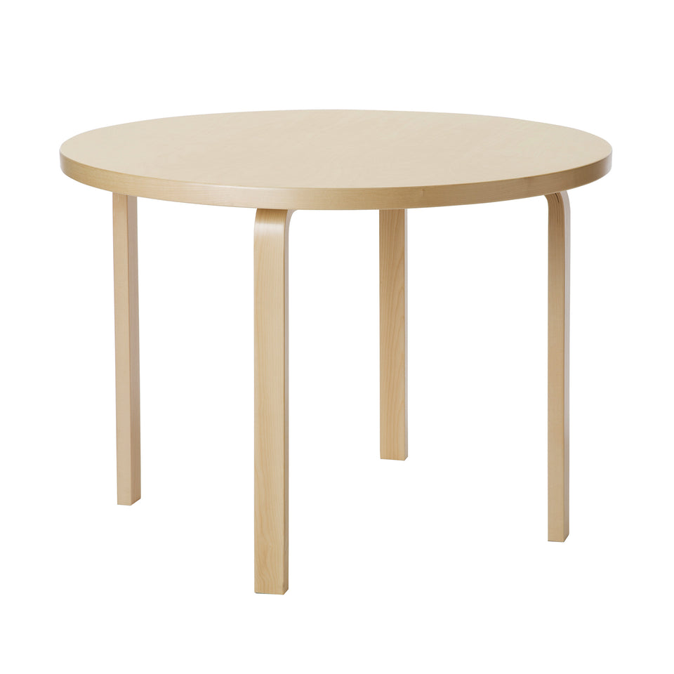 Table 90A by Alvar Aalto for Artek