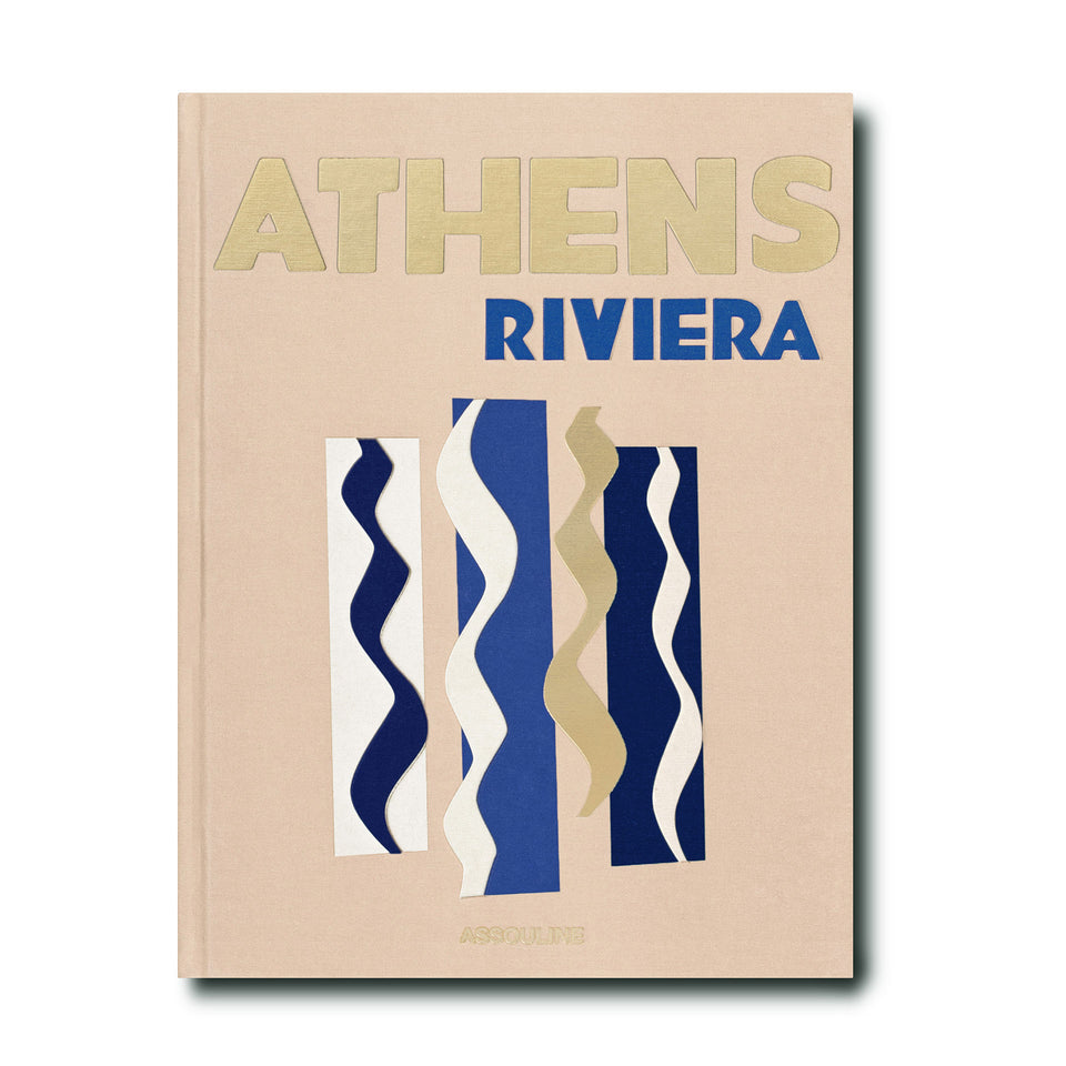 Athens Riviera Travel Book by Assouline
