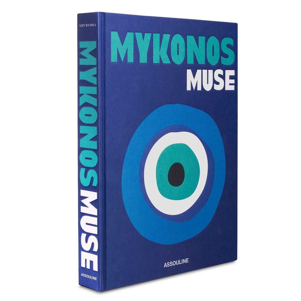 Mykonos Muse Travel Book by Assouline