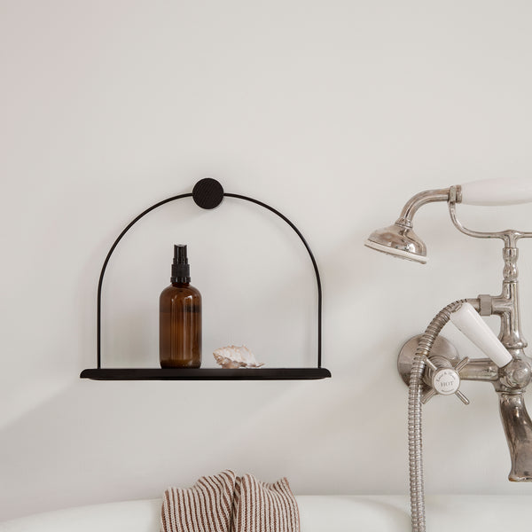 Bathroom Shelf Black by Ferm Living