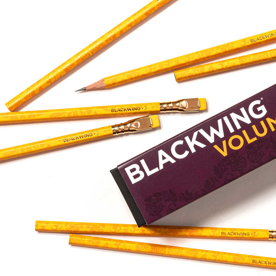 Blackwing Volume 3 Limited Edition Pencils - Set of 12