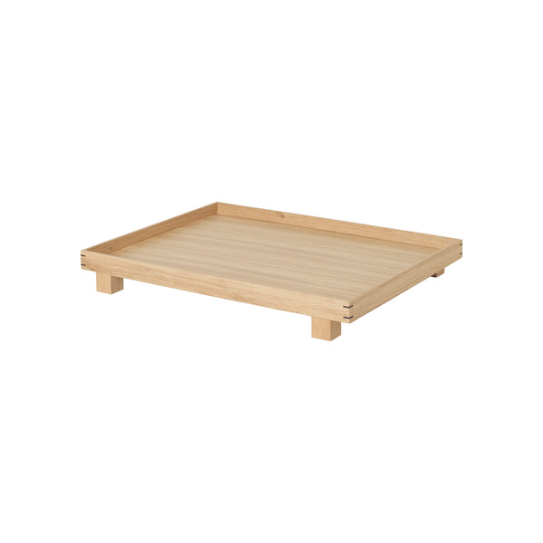 Bon Wooden Tray Large - Oak by Ferm Living