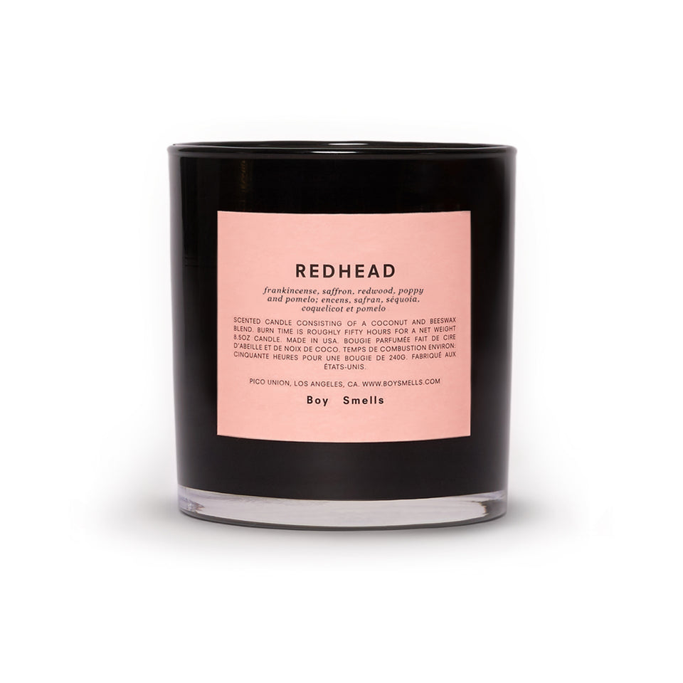 Boy Smells Readhead Candle
