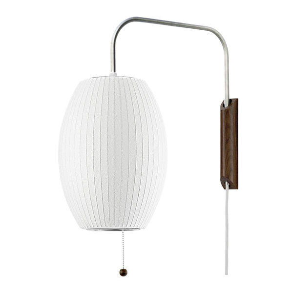 Cigar Wall Sconce Bubble Lamp - George Nelson - Modernica - Vertigo Home
