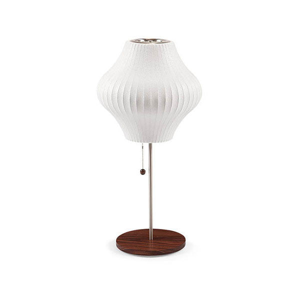 Pear Lotus Table Bubble Lamp - George Nelson - Modernica at www.vertigohome.us