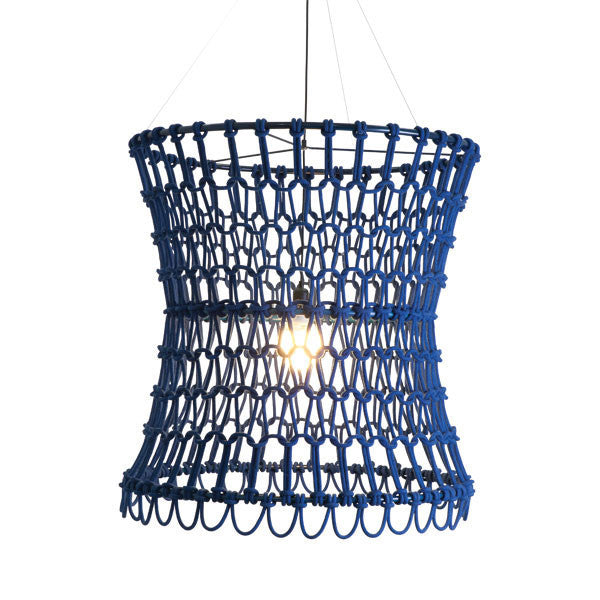 Carousel Hanging Lamp Blue by Kenneth Cobonpue for Hive - Vertigo Home