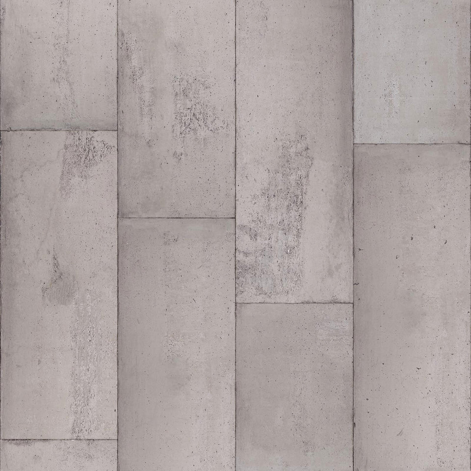 Large Tiles Concrete CON-01 Wallpaper by Piet Boon + NLXL