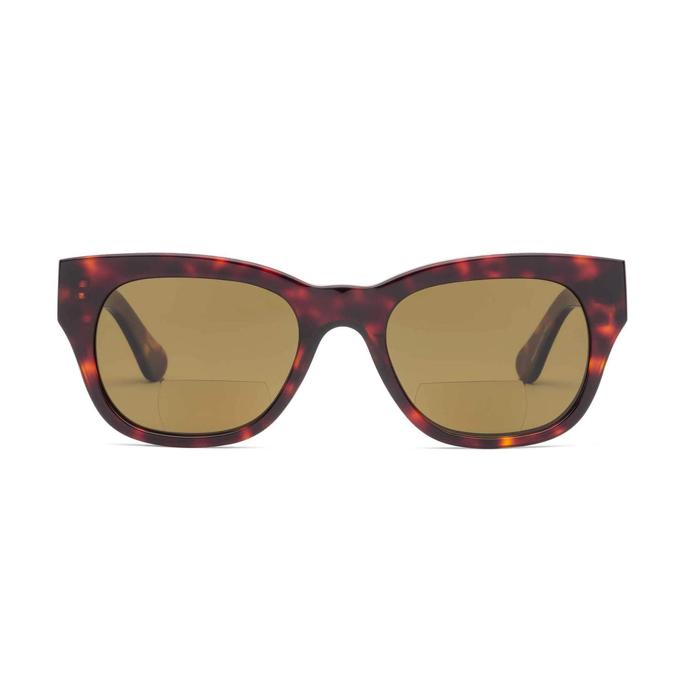 Miklos Turtle Sun Reading Glasses by Caddis