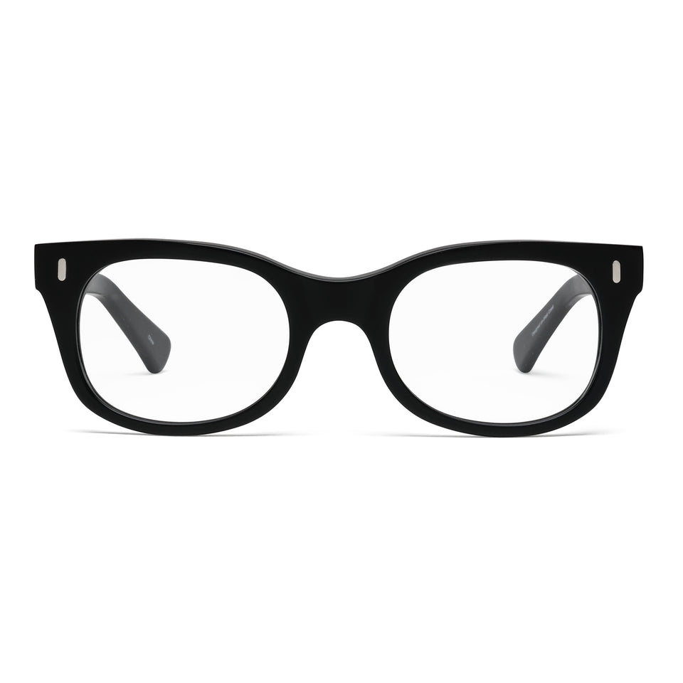 Bixby Matte Black Reading Glasses by Caddis