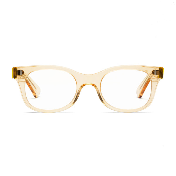 Bixby Raw Honey Reading Glasses by Caddis