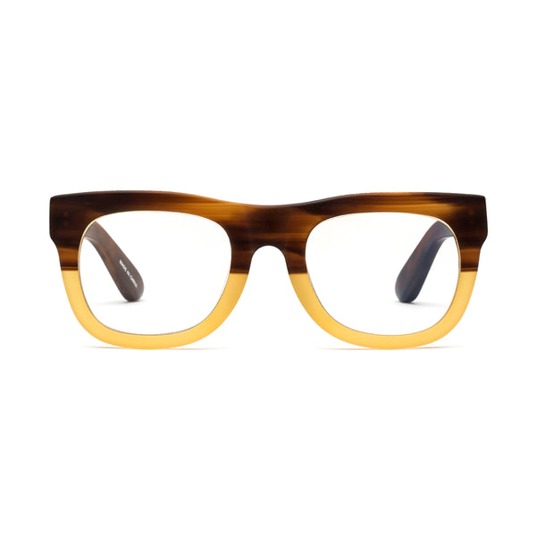 D28 Bullet Coffee Reading Glasses by Caddis