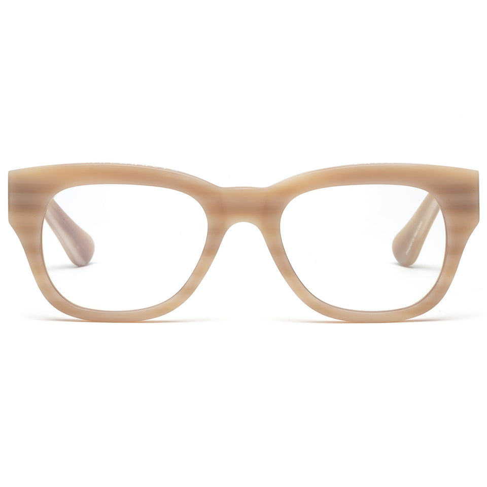 Miklos Matte Bone Reading Glasses by Caddis