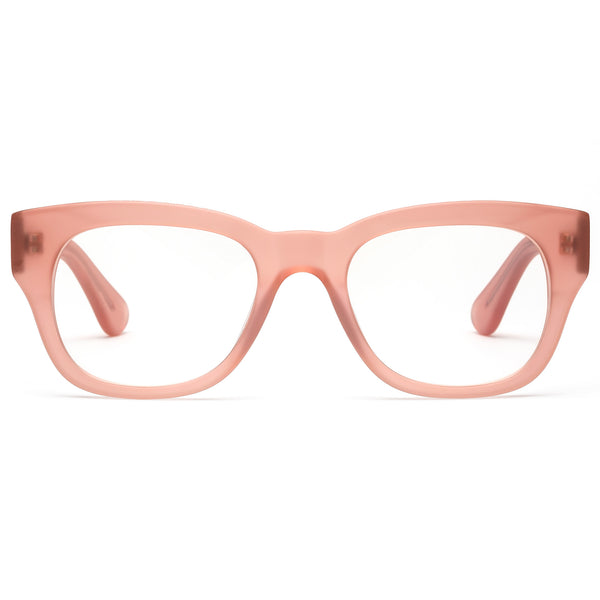 Miklos Matte Pink Reading Glasses by Caddis