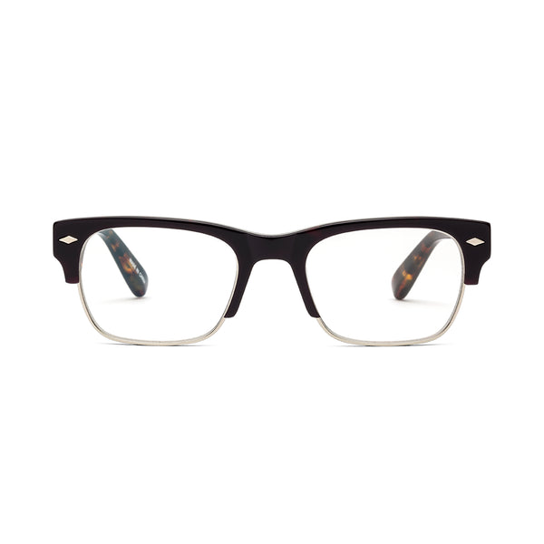 Navin Burnt Tort Reading Glasses by Caddis