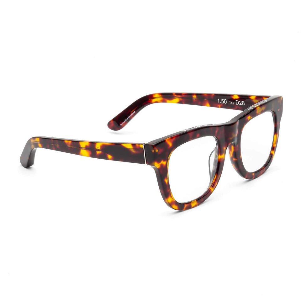 D28 Turtle Reading Glasses by Caddis