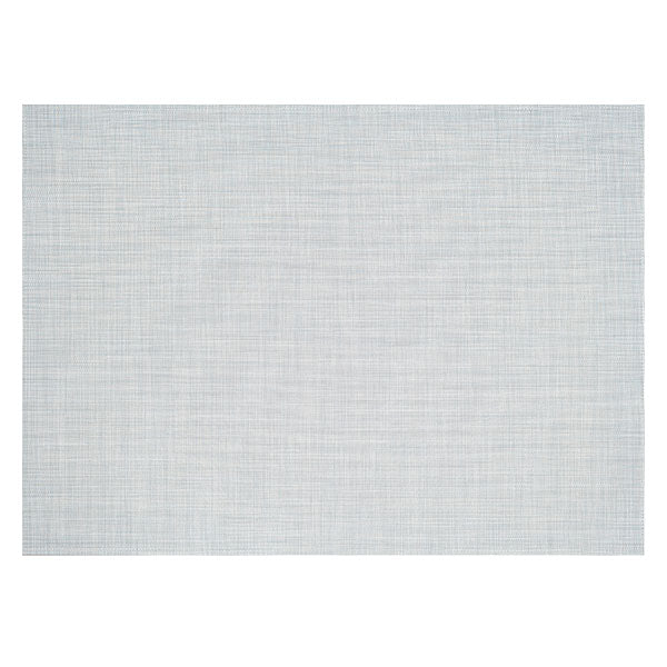 Sky Mini Basketweave Woven Floor Mat by Chilewich